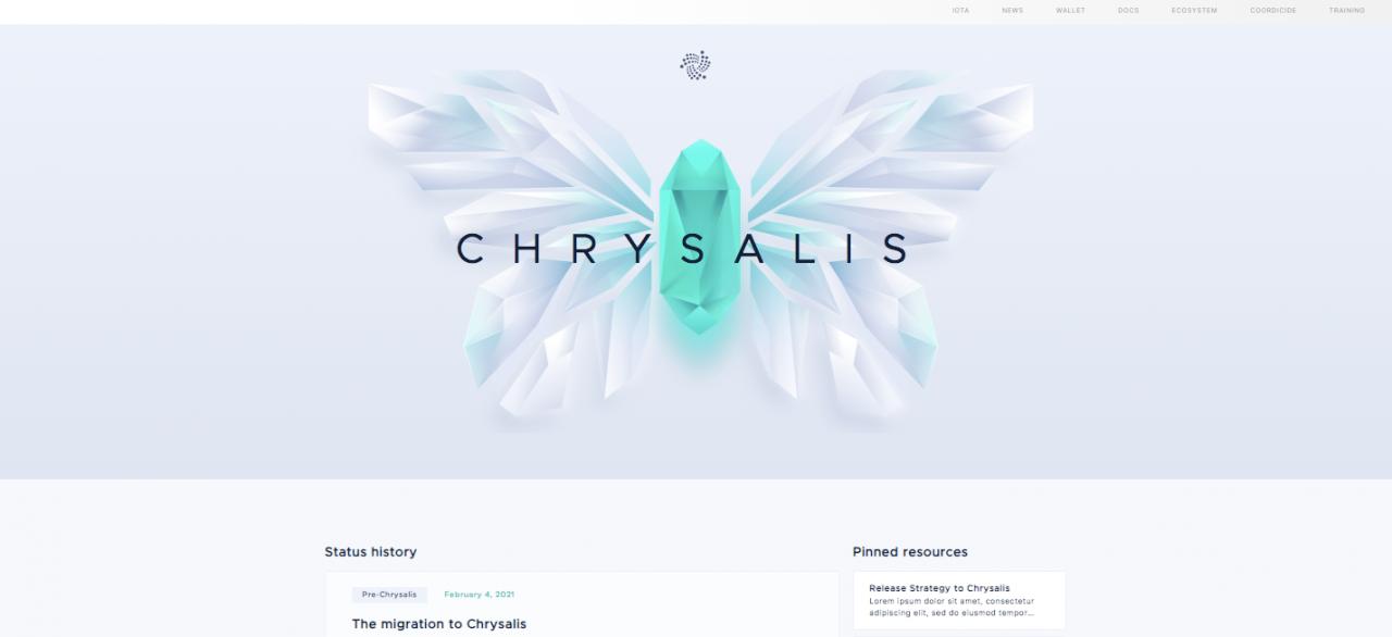 新的曙光!!!-IOTA官方Chrysalis P2网络上线预告